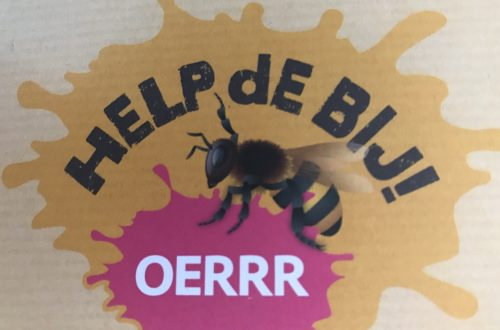 Help de bij logo OERRR