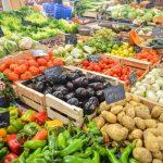 lokale groentemarkt