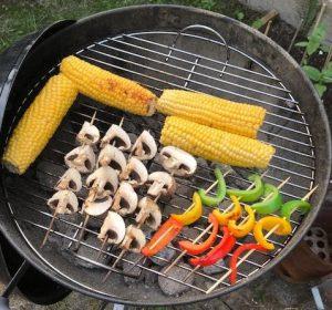 BBQ met groente