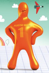 plastic heroes poppetje