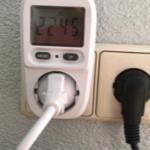 ernery meter van ecosaver in stopcontact